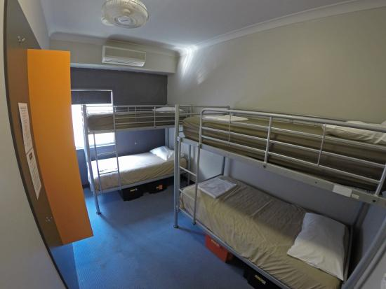 Global Backpackers: Dorm room