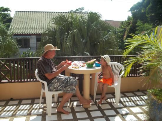 Takiab Beach Hotel : Терраса в номере