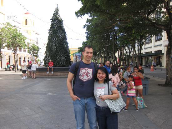 Plaza de Armas : Christmas decorations