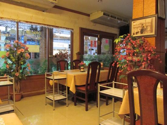 Queen Lotus Guest House: 1Fレストラン