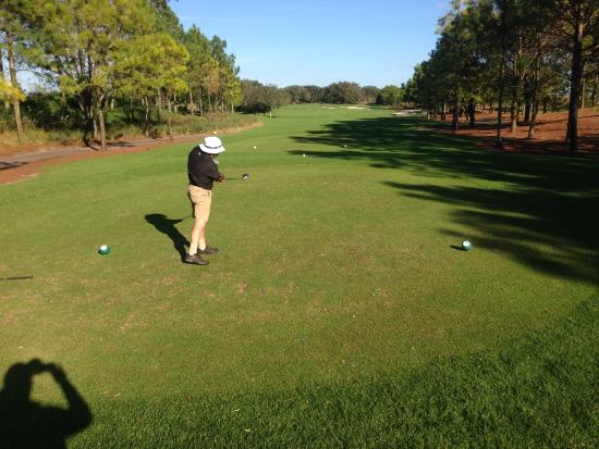 Orange County National Golf Center and Lodge: Tee shot