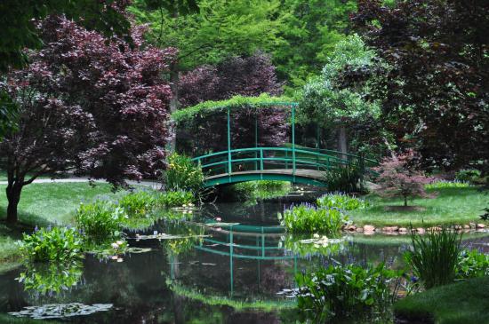 Monet Bridge - Picture of Gibbs Gardens, Ball Ground - TripAdvisor