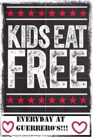 Madill, Оклахома: Kids eat free!