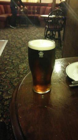 White Hart Hotel: Breakfast. Yum! Best beer too!