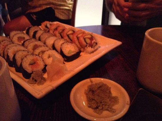 Kenichi Pacific Sushi & Pacific Rim: extra charge for fresh wasabi