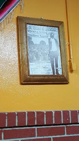 DeLand, FL: Sweet Zapata poster!