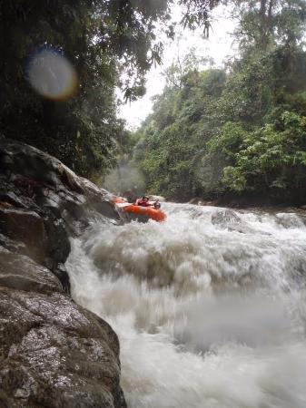 Nomad Earth Camp: Whitewater rafting
