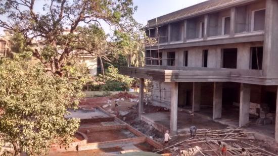 شارنام جرين ريزورت: Rooms adjacent to construction site