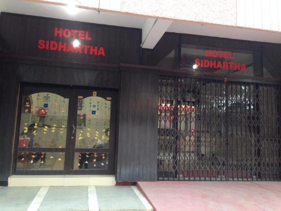 Hotel Sidhartha: Вход в отель