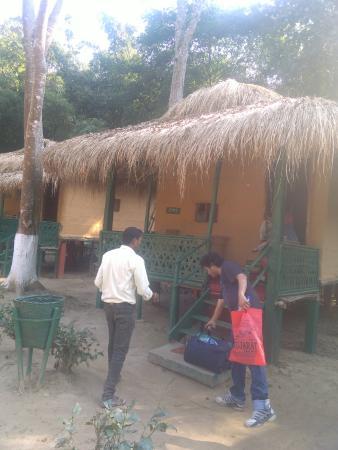 Nature Hunt Eco Camp, Kaziranga: Hut!