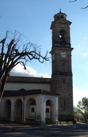 Rovio, Szwajcaria: La Chiesa