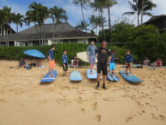 Lawai, HI: learning the moves