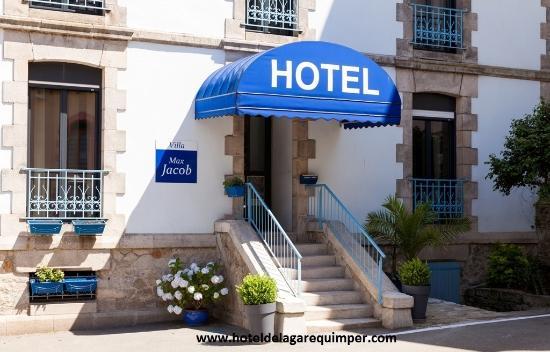 Hotel de la Gare : Entrée Villa Max Jacob