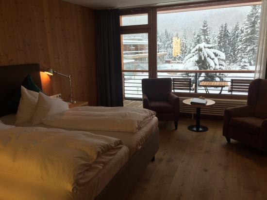 Hotel das Kranzbach: Tolles Haus in winterlicher Umgebung. Erstklassiger Service.