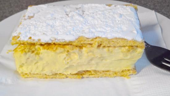 Gladysdale Bakehouse: Old style vanilla slice