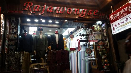 Rajawongse Clothier: Clothier