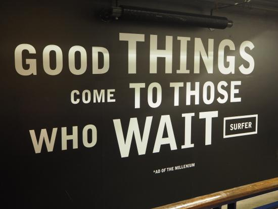 Do Good Things Come to Those Who Wait?