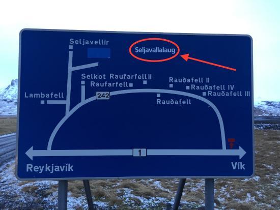 Skogar, ไอซ์แลนด์: Où trouver le site
