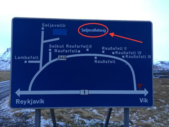 Skogar, Islandia: Où trouver le site
