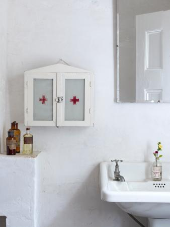 The White House: bathroom details