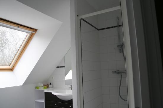 Sainte-Marie-au-Bosc, Frankreich: Salle de bains