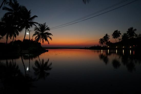 Kannur Beach House: View from the garden