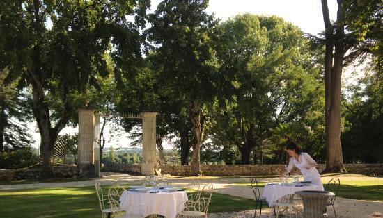 Villereal, Francja: evening diner chateau rayet dordogne