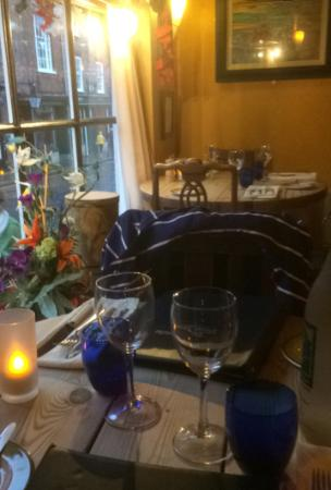 The Blue Bicycle : Nice Dining - Rustic