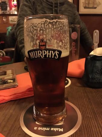 Kirchheimbolanden, Alemania: Neben Murphy's RedAle gibt's hier noch etwa 10 weitere Biere