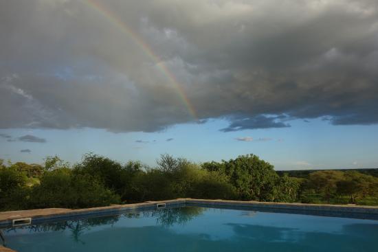 Osupuko Lodge: piscine