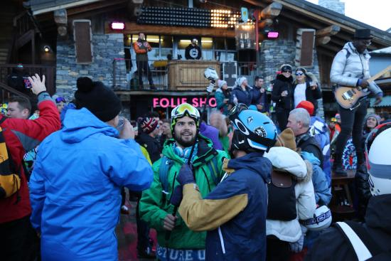 Photo of French Restaurant La Folie Douce at Télécabine De La Daille, Val d'Isère 73150, France