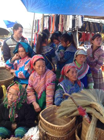 Lao Cai Province, Vietnam: Bac ha market