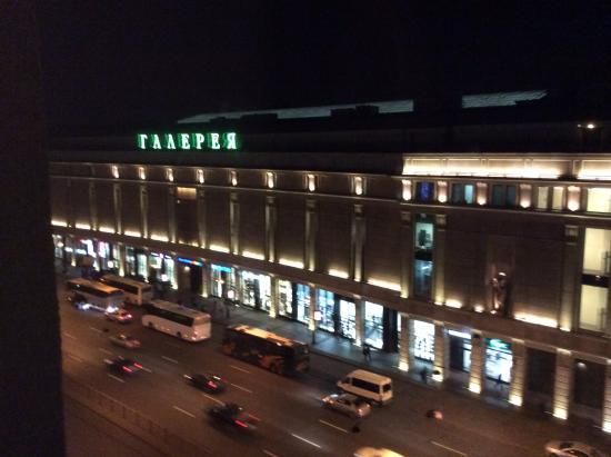 utsikt fr n hotellet picture of allegro hotel on ligovskiy ave st rh tripadvisor com