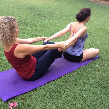Caloundra, Australia: Thai Yoga Massage is given fully clothed