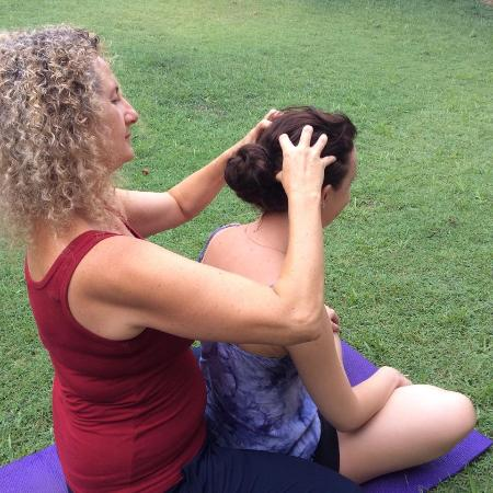 Caloundra, Australië: Lovely head massage