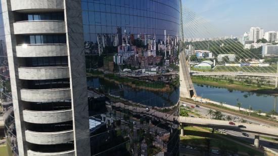 Hilton Sao Paulo Morumbi: View from the 15th floor