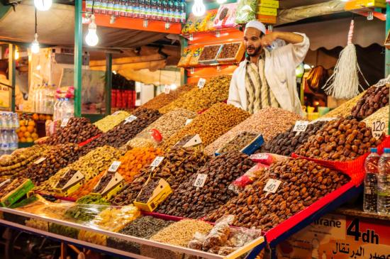Free samples - マラケシュ、Food Markets of Marrakechの写真