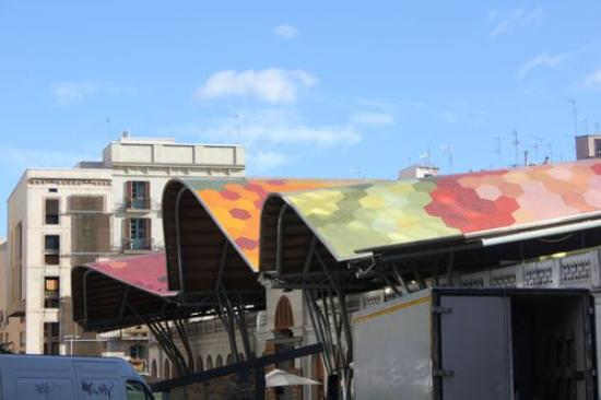 Mercado de Santa Caterina: esterno