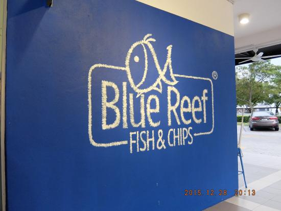 Blue Reef Fish & Chips : nice colour n design