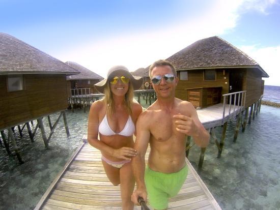 Vakarufalhi Island Resort: gopro selfie