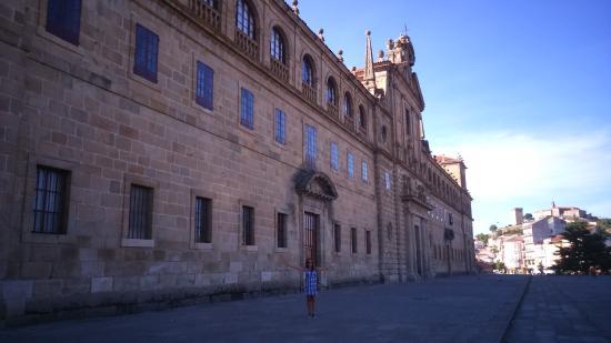 Monforte de Lemos, Spain: Fachada.