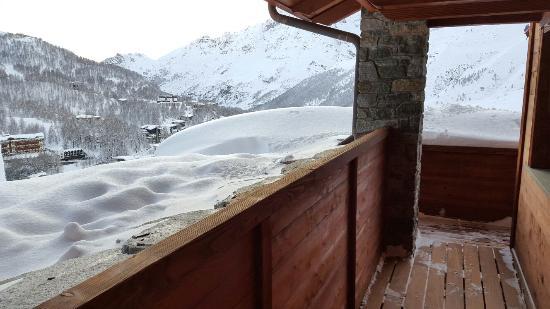 Principe Delle Nevi: Вид с балкона