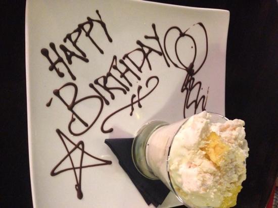Seaton, UK: Happy Birthday