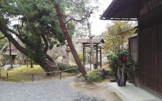 Hakusha Son-so Garden : 入口付近