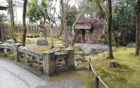 Hakusha Son-so Garden : 石橋苔が味わい深い