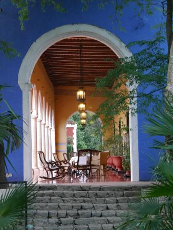 Hacienda Santa Rosa, A Luxury Collection Hotel: main terrace