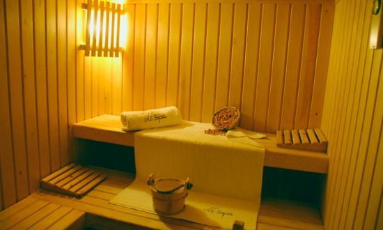 Palais Jena & Spa: sauna spa