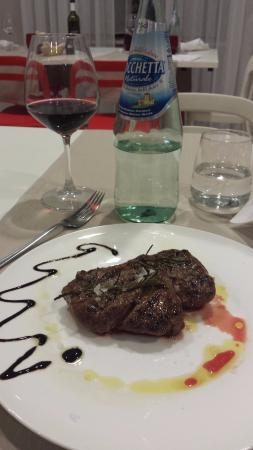 Gualdo Tadino, Italia: filetto