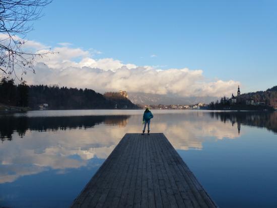 Hotel Triglav Bled: the lake