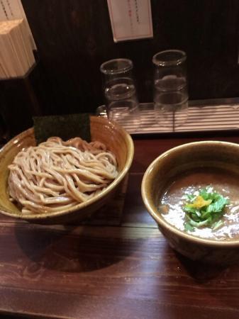 Menya Enji: 濃厚つけ汁& 胚芽麺